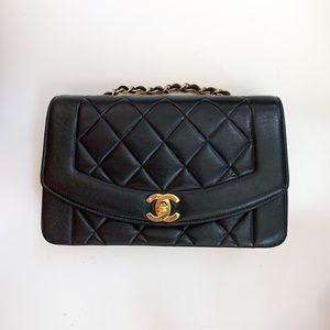 Chanel Small Diana Lambskin